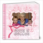 CONNIE AND RANDY - 8x8 Photo Book (20 pages)