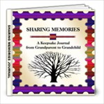 Sharing Memories Journal 8x8 FREE TO COPY - 8x8 Photo Book (20 pages)