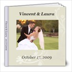 Our Wedding Book 12/29/09 - 8x8 Photo Book (60 pages)