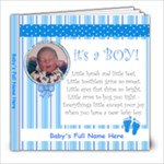 It s a Boy! 8x8 20 pg - 8x8 Photo Book (20 pages)