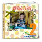 bentley 2 bday - 8x8 Photo Book (20 pages)