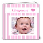 Cheyenne 4 months 8x8 20 pg - 8x8 Photo Book (20 pages)