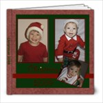 Starry Night Christmas Album 8x8 - 8x8 Photo Book (20 pages)