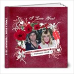J&K Valentine book - 8x8 Photo Book (20 pages)