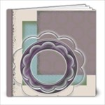 Flower and circle album - 8x8 Photo Book (30 pages)