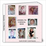 joss 2-6months - 8x8 Photo Book (20 pages)