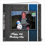 dads 80th - 8x8 Photo Book (20 pages)
