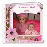 PrincessBall - 8x8 Photo Book (20 pages)