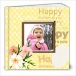 Happy Girl - 8x8 Photo Book (20 pages)