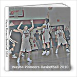 Basketball 2010 - 8x8 Photo Book (20 pages)