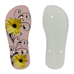 Floral Relaxation - Pink - Women s Flip Flops