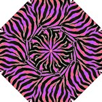 Psychadelic Zebra Umbrella - Straight Umbrella
