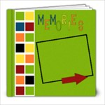 Memories 8X8 - 8x8 Photo Book (20 pages)