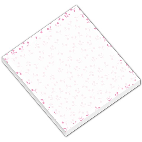 Pink Small Flower By Design001   Small Memo Pads   643tvi5ayxyr   Www Artscow Com