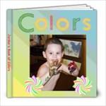 jordans book of colors - 8x8 Photo Book (20 pages)