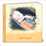 Jordan s Baby Book - 8x8 Photo Book (20 pages)