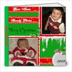 xmas  09 - 8x8 Photo Book (20 pages)
