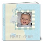 My first year - 8x8 Photo Book (20 pages)