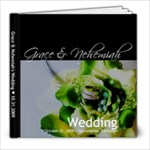 Wedding - Grace & Nehemiah - 8x8 Photo Book (30 pages)
