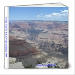 Grand Canyon and Las Vegas 2009 - 8x8 Photo Book (30 pages)