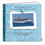 8  by 8  cruise book - 8x8 Photo Book (20 pages)