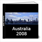 Australia 2008 - 8x8 Photo Book (20 pages)