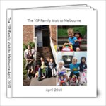 Yips in Melbourne - 8x8 Photo Book (30 pages)