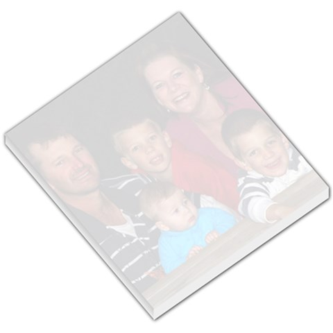 Family Memo Pad By Lisa Tamburini   Small Memo Pads   Pev548mt84ns   Www Artscow Com