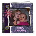 Family ABCs - 8x8 Photo Book (20 pages)