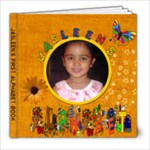 Jasleen First Abc Book - 8x8 Photo Book (30 pages)