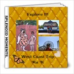 west coast trip - 8x8 Photo Book (20 pages)