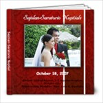 Sajolan-Saratorio Nuptials - 8x8 Photo Book (20 pages)