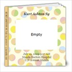 Kurt 0 - 3 months old - 8x8 Photo Book (20 pages)