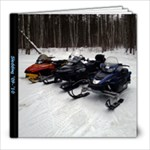 Sledding - 8x8 Photo Book (20 pages)