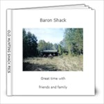 OLD HUNTING SHACK PICS - 8x8 Photo Book (20 pages)