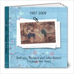 all 3 kids photo book - 8x8 Photo Book (100 pages)