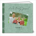 Journal Volume 3 - 8x8 Photo Book (30 pages)
