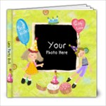 Party Time 8x8 - 8x8 Photo Book (20 pages)