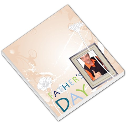 Fathers Day By Wood Johnson   Small Memo Pads   72iehw87rjuc   Www Artscow Com