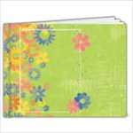 Floral 9x7 Spring/summer album - 9x7 Photo Book (20 pages)