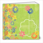 8x8 Floral album - 8x8 Photo Book (20 pages)