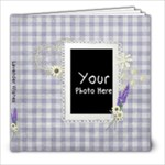 Lavender Wishes 8x8 - 8x8 Photo Book (20 pages)