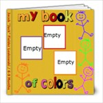 jack colors book 6-9 mo - 8x8 Photo Book (20 pages)