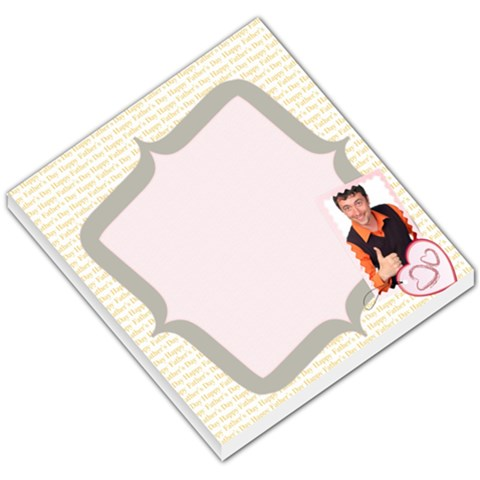 Fathers Gift By Wood Johnson   Small Memo Pads   X4jfntzakf2w   Www Artscow Com