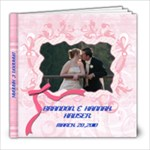 WEDDING BOOK - 8x8 Photo Book (60 pages)
