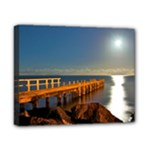 Olivers Hill by Moonlight - Canvas 8 x 10 - Canvas 10  x 8  (Stretched)