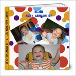 Kurt 7 -9 mos  - 8x8 Photo Book (30 pages)
