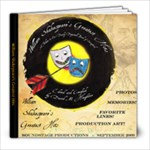 A Book I did for our Soundstage Shakespeare Play - 8x8 Photo Book (39 pages)