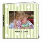 Alivia & Gavin - 8x8 Photo Book (20 pages)