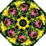__My Flowers 4 Lily & Cone Umbrella - Folding Umbrella
